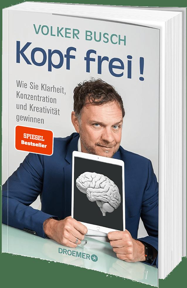 Buchcover Spiegel Bestseller Kopf frei! von Prof. Dr. Volker Busch